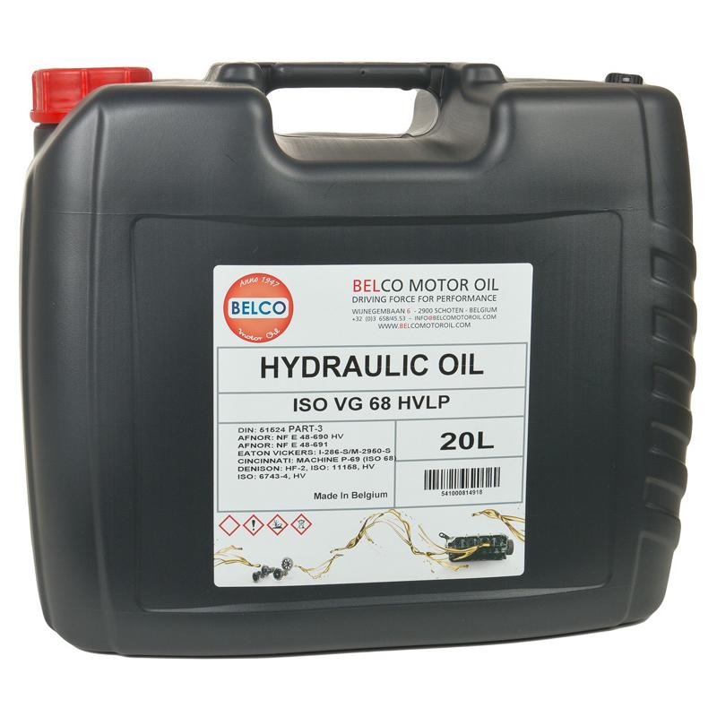 HYDRAULIC OIL ISO VG 68 HVLP