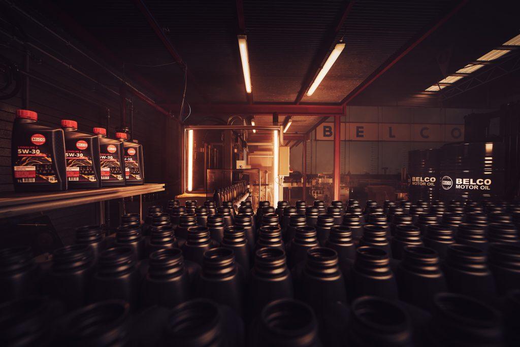 BELCO motor oils manufacturer Belgium